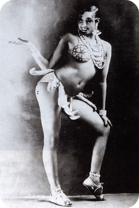Josephine Baker banana dress