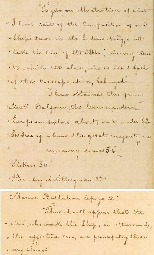 Bushire letter