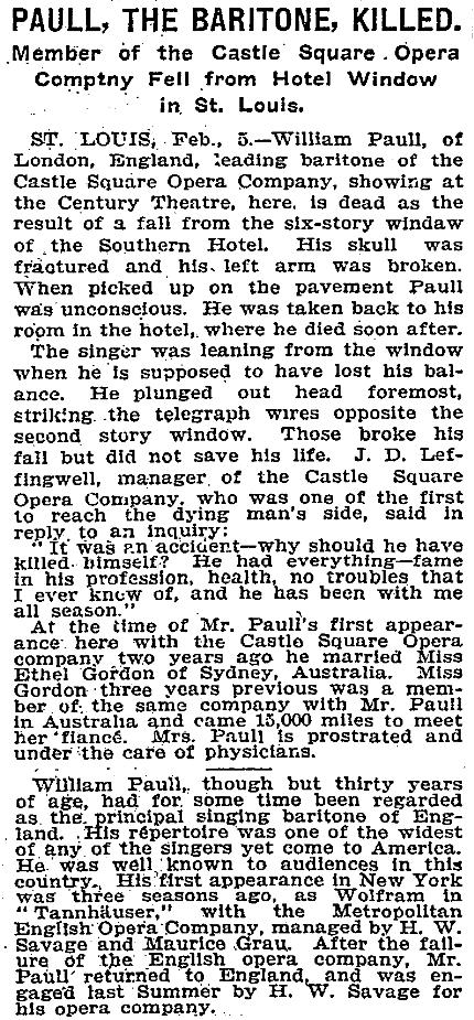 Paull killed