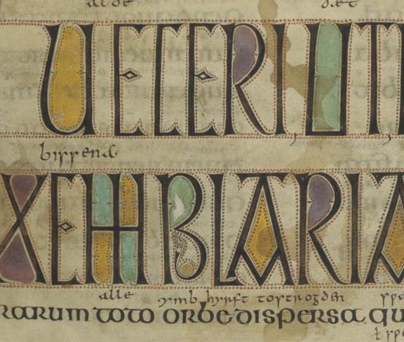 Bottom of folio 3r