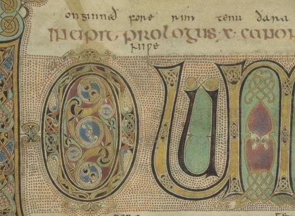 Top of folio 3r