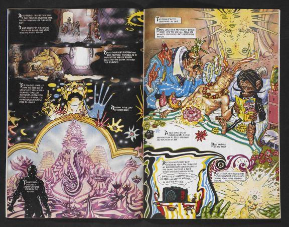 Rogan Ghosh, by Peter Milligan and Brendan McCarthy, 1990 Revolver (c) Peter Milligan (1)