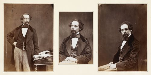 Photographs of Charles Dickens