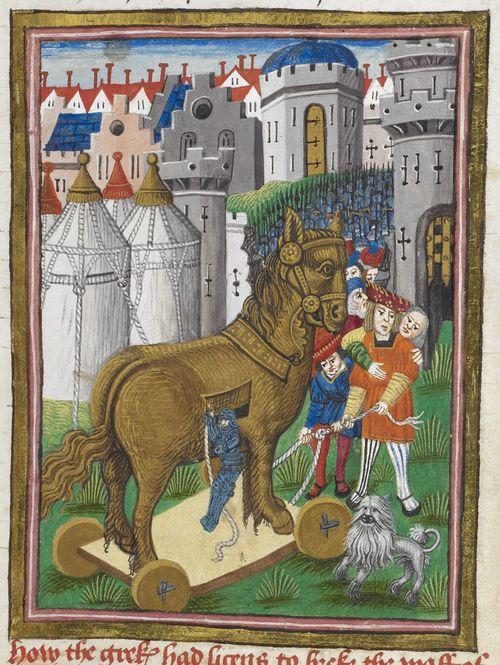 Image result for medieval manuscript odysseus