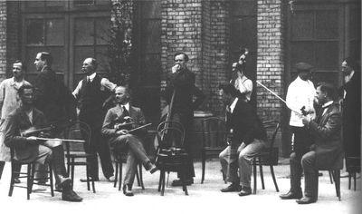 Interned Musicians at Alexandra Palace