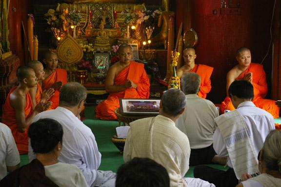 Buddhist celebration_Luang Prabang