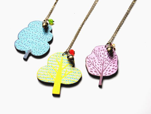 Artysmarty_tree necklaces