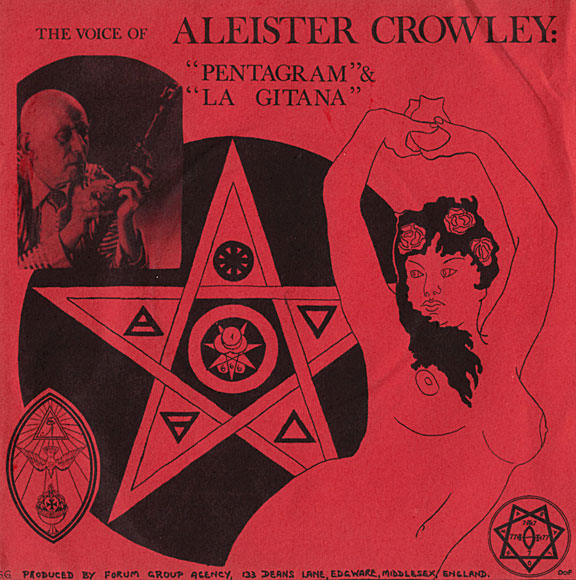 Aleister Crowley on record - English and Drama blog