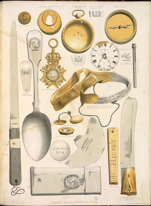 Franklin artefacts