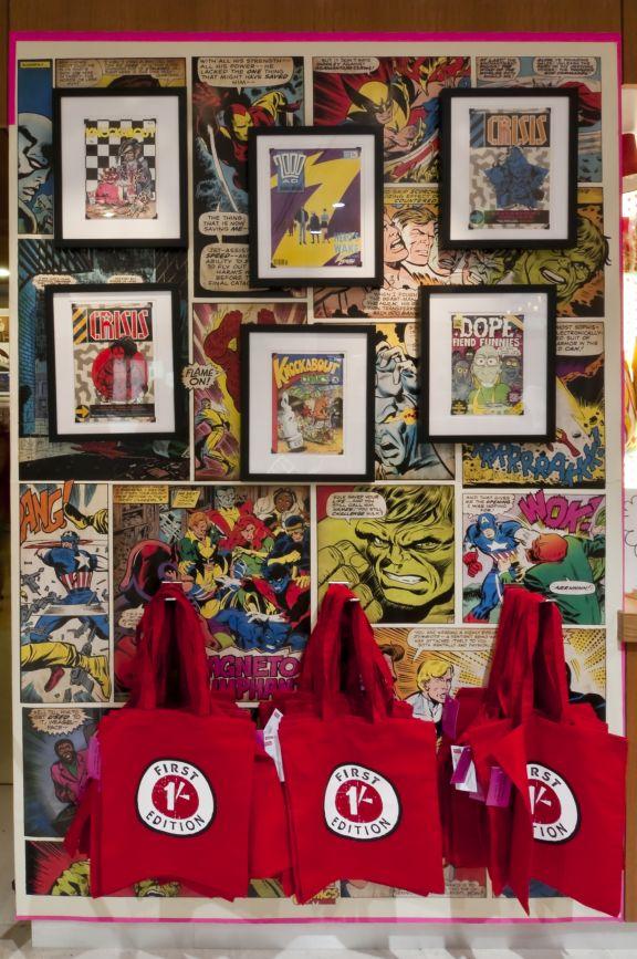 British Library bookshop Comics Unmasked 5