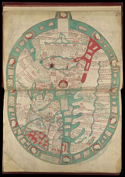 A Map At The End Of The World Medieval Manuscripts Blog