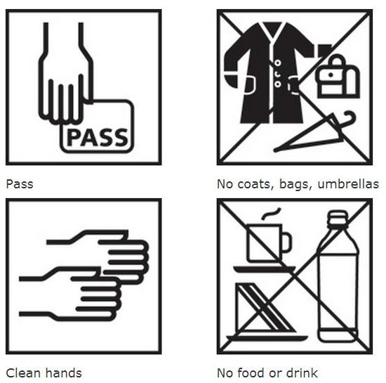 Collection Care icons