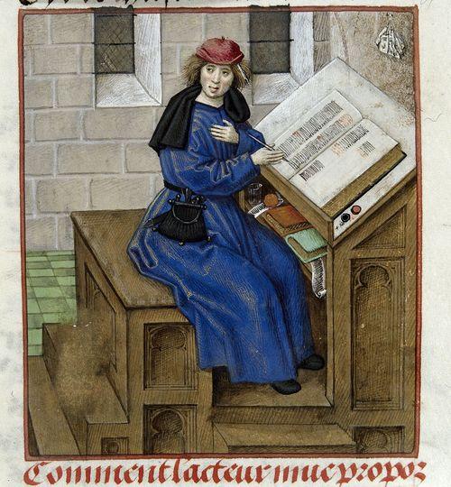 Image result for medieval scribe german