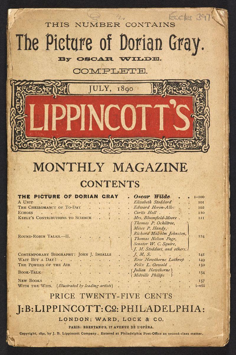 Lippincott's Monthly Magazine. July 1890