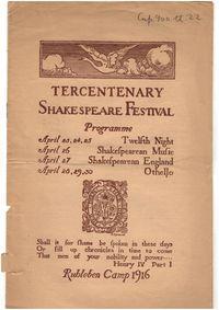Ruhleben Shakespeare Festival