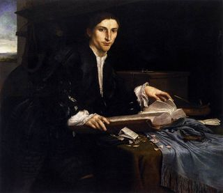 Portrait of a Young Man in his Study