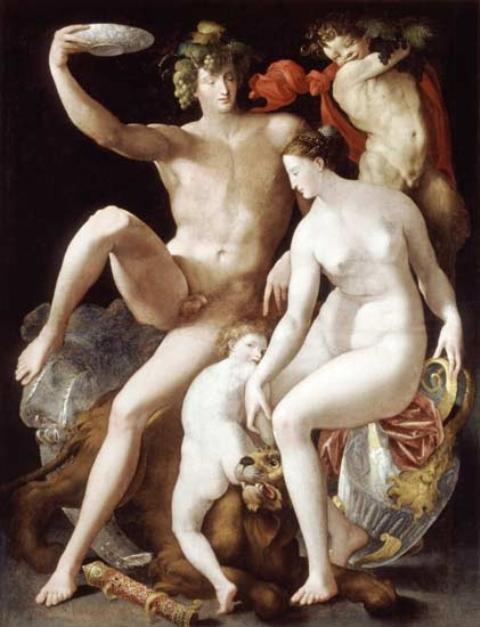 CM Fiorentino Bacchus Venus and Mars