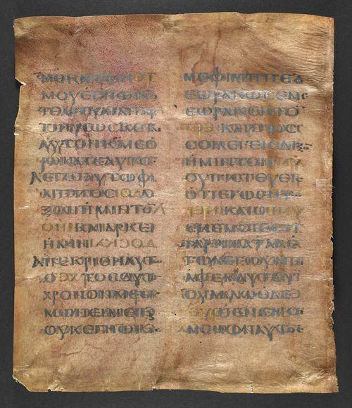 Purple parchment