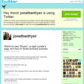 Jonathan Fryer