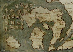 Britain on the Anglo-Saxon World Map