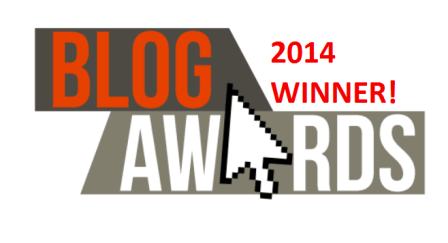 UK Blog Awards Winner Logo