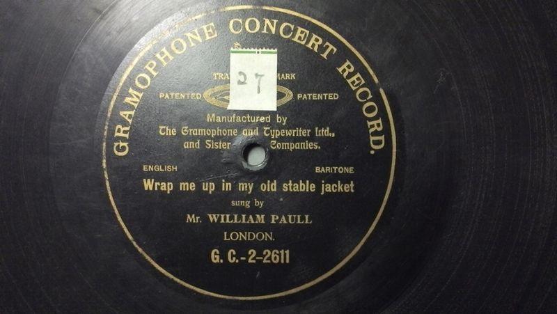 William Paull label