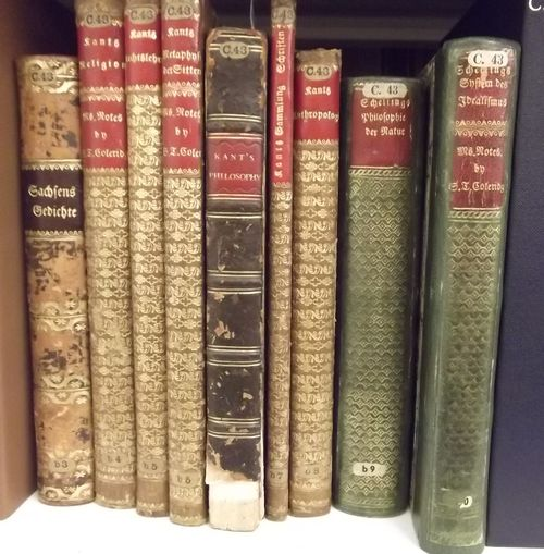 Coleridge books