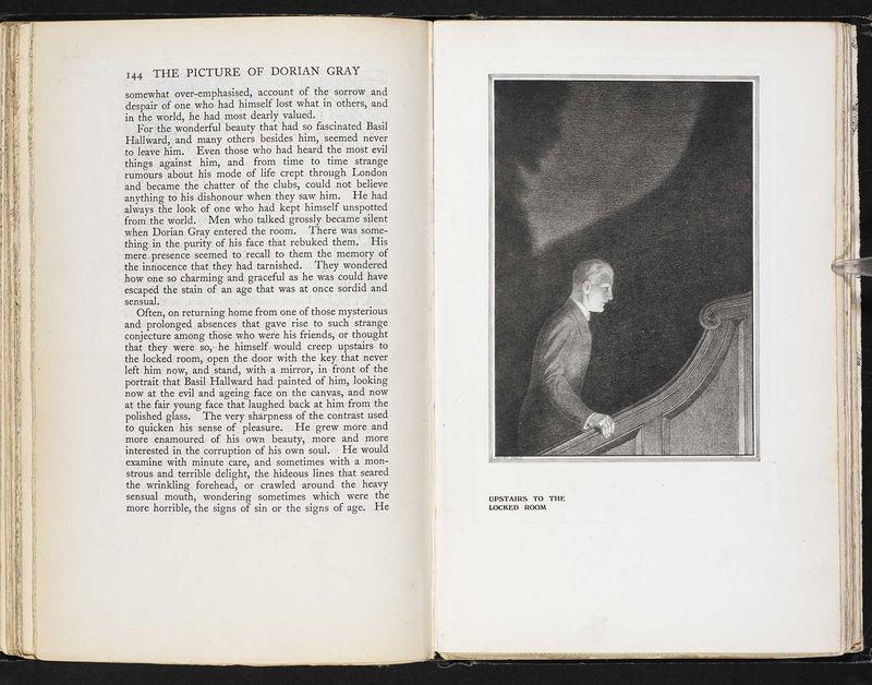 Oscar Wilde Harry Keen 1925