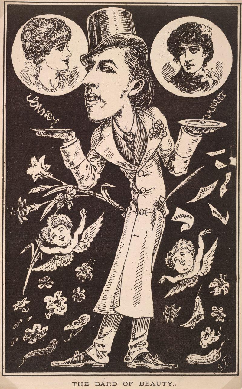 Bard of Beauty 1880. Time Magazine 1880