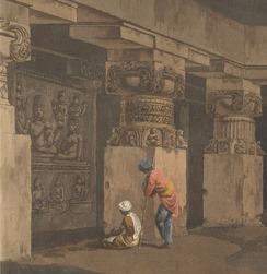 Daniell's Hindoo Excavations X432 pt 6 pl 19 det