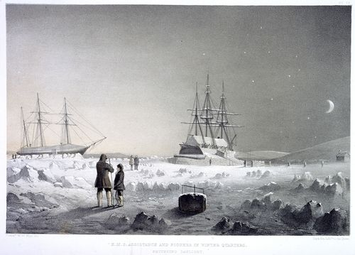 HMS Assistance and Pioneer
