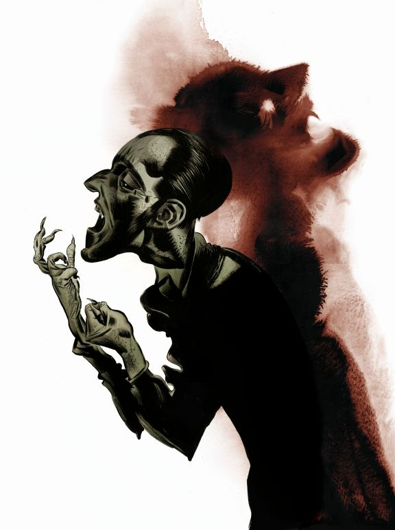 Gothic Terror and Wonder exhibition artwork Dave McKean