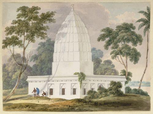 WD4404 fol 20 Cleveland's native monument at Bhagalpur
