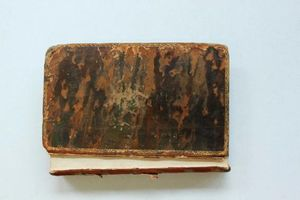 Mysteries of Udolpho before conservation