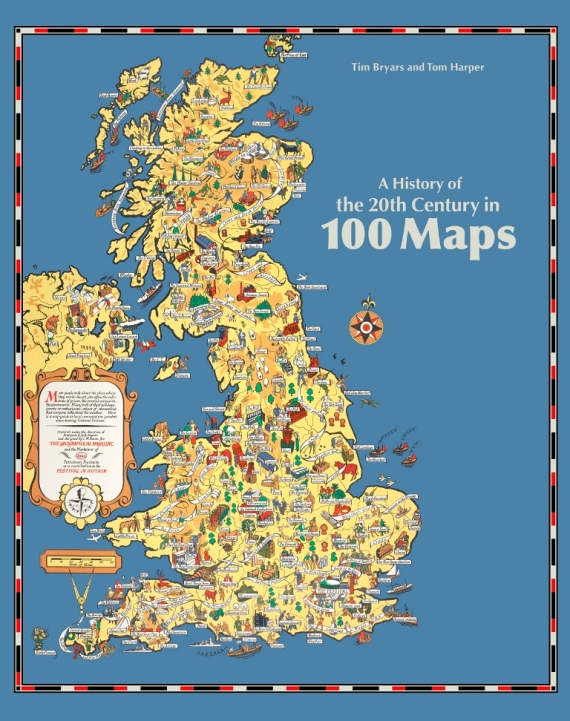 A history of the 20th century in 100 maps maps and views blog blog edit100 maps final jacket telling history through gumiabroncs Choice Image