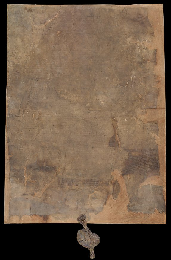 Burnt Magna Carta