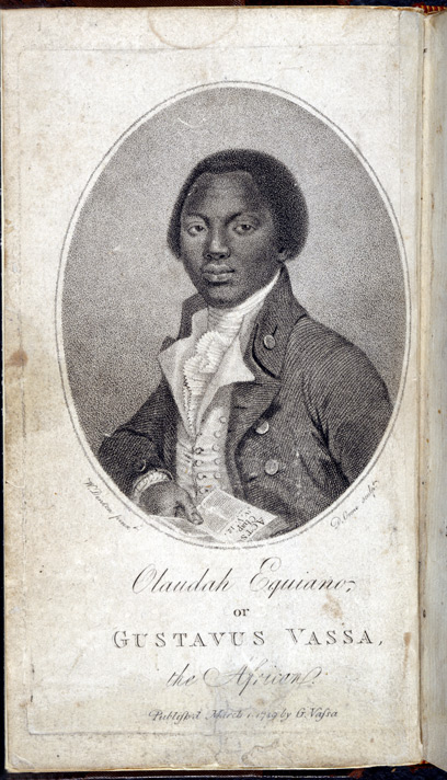 Interesting Narrative of Olaudah Equiano (portrait)