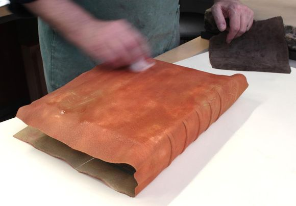 Toning the leather