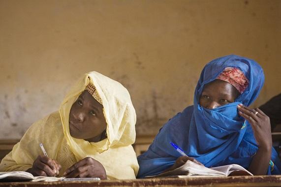 Manuscript culture in Timbuktu in 2007 by photographer Alexandra Huddleston (c) Alexandra Huddlestone