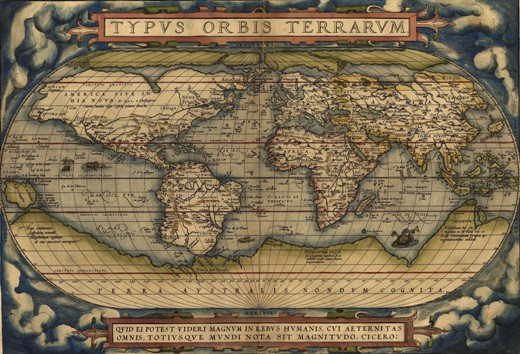SmallOrtelius World Map