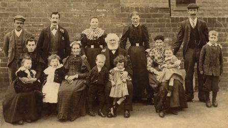 Family History - Sepia family portraitsmall