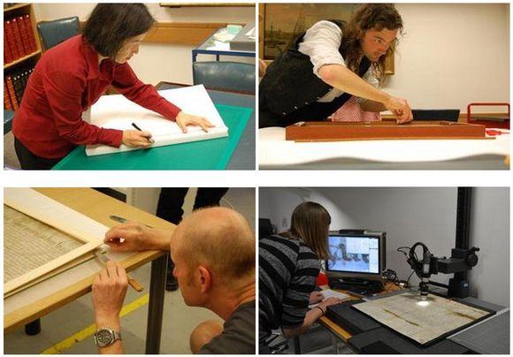 Magna Carta Conservation Team