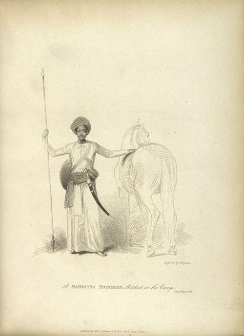 Mahratta horseman