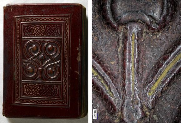 The St Cuthbert Gospel binding