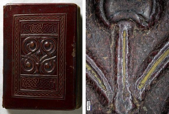 The St Cuthbert Gospel binding