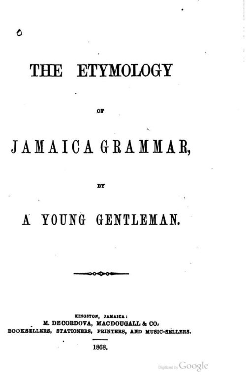 Etymologyjamaic00russgoog_0007
