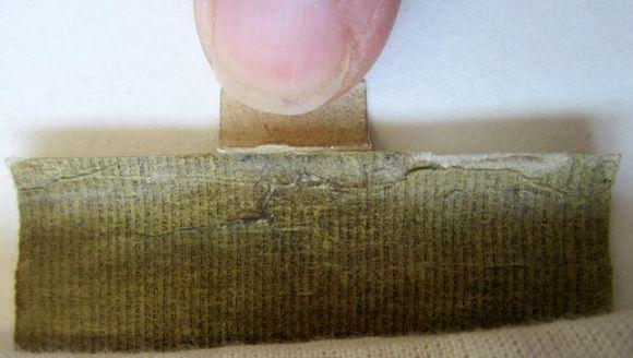 Tiny scroll text