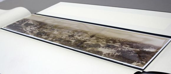 Panorama after conservation