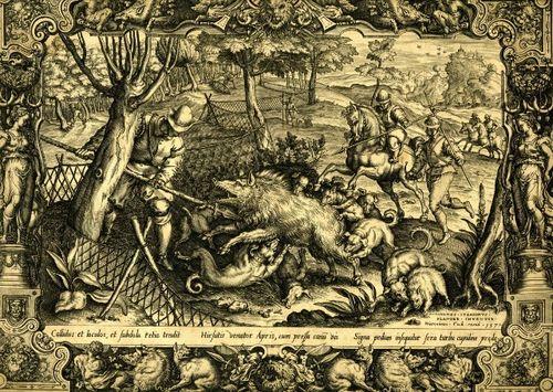 CM Stradanus boar hunt