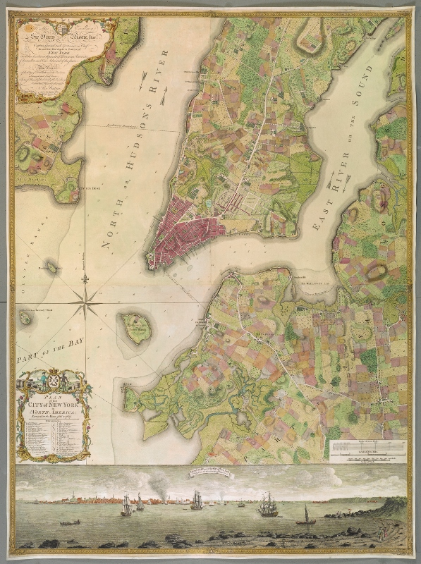 Magnificent Maps of New York  Maps and views blog